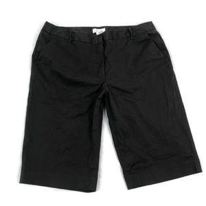 Calvin Klein Women's Brown Bermuda Walking Shorts
